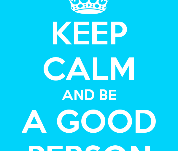 """Am I A Good Person?"